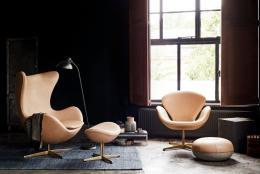 Egg chair 60th anniversary in 2018 by Arne Jacobsen